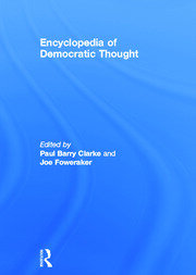 ENCY DEMOCRATIC THOUGHT - 1st Edition book cover