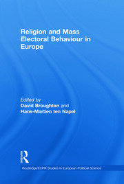 RELIGION & ELECTORAL BEHAV EUR - 1st Edition book cover