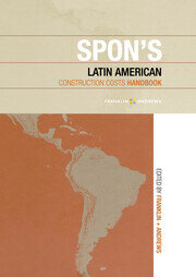 Spon's Latin American Construction Costs Handbook