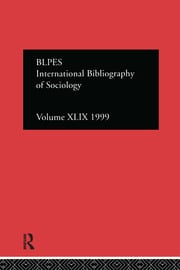 IBSS: Sociology: 1999 Vol.49