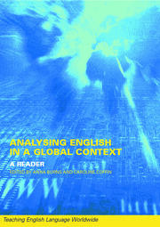 Analyzing English in a Global Context: A Reader