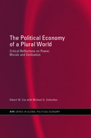 The Political Economy of a Plural World: Critical reflections on Power, Morals and Civilisation