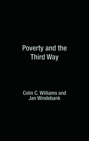 Featured Title - POVERTY & THIRD WAY - 1st Edition book cover