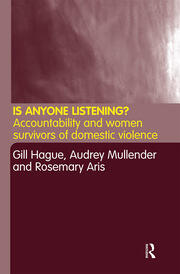 Women survivors of domestic violence as service users: the silenced group