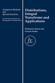 Distribution, Integral Transforms and Applications