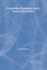 Functional Equations with Causal Operators