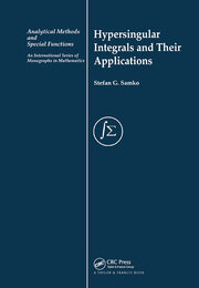 Hypersingular Integrals and Their Applications