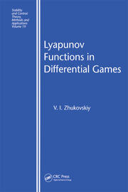 Lyapunov Functions in Differential Games