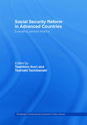 Social Security Reform in Advanced Countries: Evaluating Pension Finance