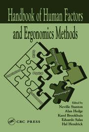 Handbook of Human Factors & Ergonomics Methods - 1st Edition book cover