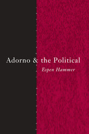 Adorno and the Political