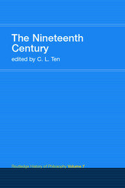The Nineteenth Century: Routledge History of Philosophy Volume 7