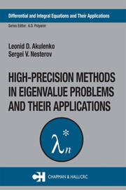High-Precision Methods in Eigenvalue Problems and Their Applications