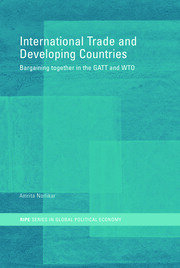 International Trade and Developing Countries: Bargaining Coalitions in GATT and WTO