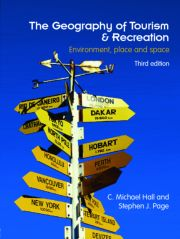 GEOGRAPH TOURISM & RECREAT ED3 - 1st Edition book cover