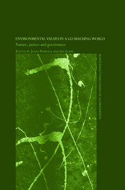Environmental Values in a Globalizing World - 1st Edition book cover