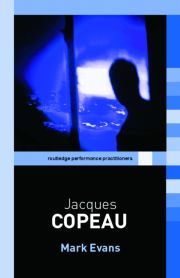Featured Title - JACQUES COPEAU RPP - 1st Edition book cover