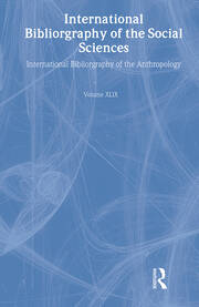 IBSS: Anthropology: 2003 Vol.49