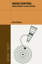 NOISE CONTROL: From Concept To Application - 1st Edition book cover