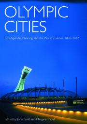 Featured Title - Olympic Cities Gold - 1st Edition book cover