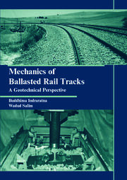 Mechanics of Ballasted Rail Tracks: A Geotechnical Perspective