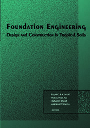 Foundation Engineering: Design and Construction in Tropical Soils