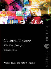 Cultural Theory: The Key Concepts