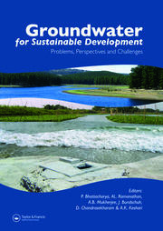 Groundwater for Sustainable Development - 1st Edition book cover