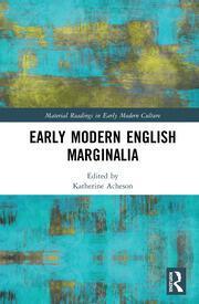 Early Modern English Marginalia