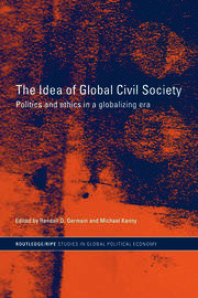 Global civil society and global governmentality