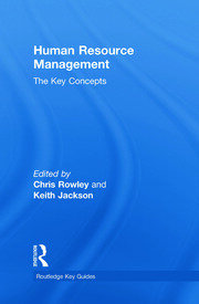 Human Resource Management: The Key Concepts - 1st Edition book cover