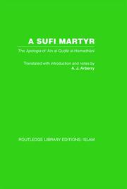 A Sufi Martyr