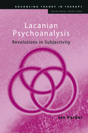 Lacanian Psychoanalysis: Revolutions in Subjectivity