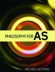 Philosophy for AS - 1st Edition book cover
