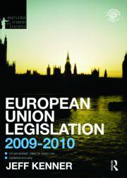 European Union Legislation 2009-2010