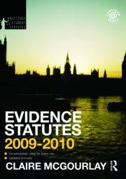 Evidence Statutes 2009-2010