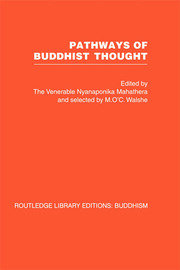 Pathways of Buddhist Thought: Essays from The Wheel