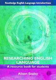 Researching English Language: A Resource Book for Students