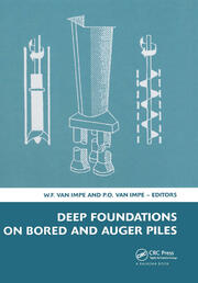 Deep Foundations on Bored and Auger Piles - BAP V: 5th International Symposium on Deep Foundations on Bored and Auger Piles (BAP V), 8-10 September 2008, Ghent, Belgium, Book + CD-ROM