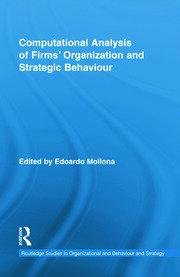 Computational Analysis of Firms' Organization and Strategic Behaviour