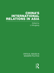 China's International Relations in Asia