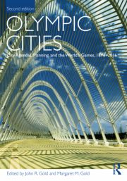 Olympic Cities Gold - 1st Edition book cover