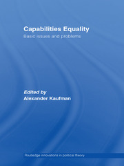 Capabilities Equality: Basic Issues and Problems