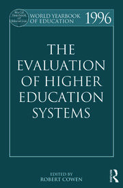 The World Yearbook of Education 1996: The Evaluation of Higher Education Systems