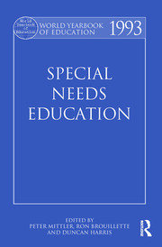 World Yearbook of Education 1993: Special Needs Education