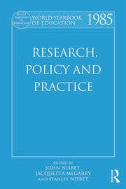 World Yearbook of Education 1985: Research, Policy and Practice