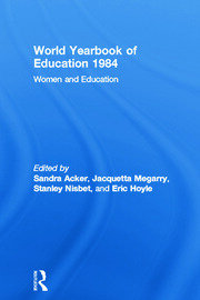 World Yearbook of Education 1984: Women and Education