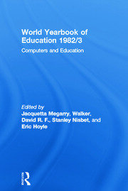 World Yearbook of Education 1982/3: Computers and Education