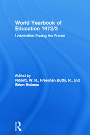 World Yearbook of Education 1972/3: Universities Facing the Future