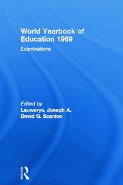 World Yearbook of Education 1969: Examinations